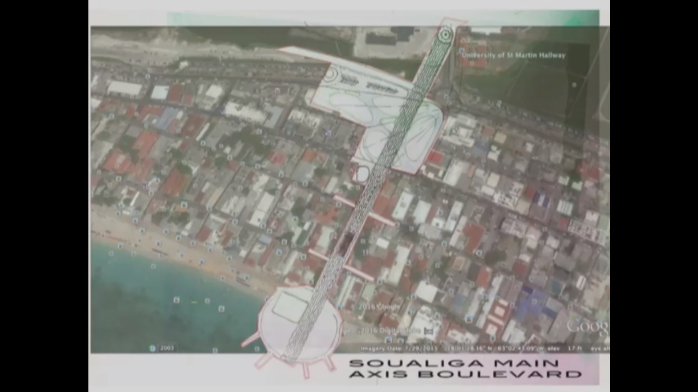 Parliament Plaza - Soualiga Main Axis Boulevard