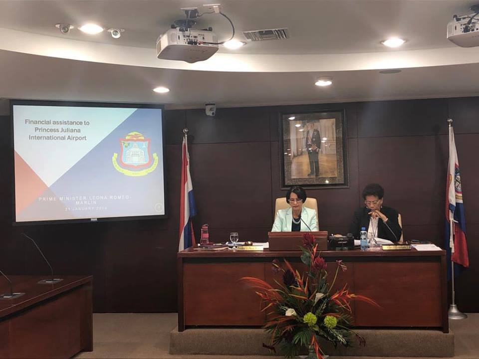 Presentation Parliament on Airport Financing 2019012102