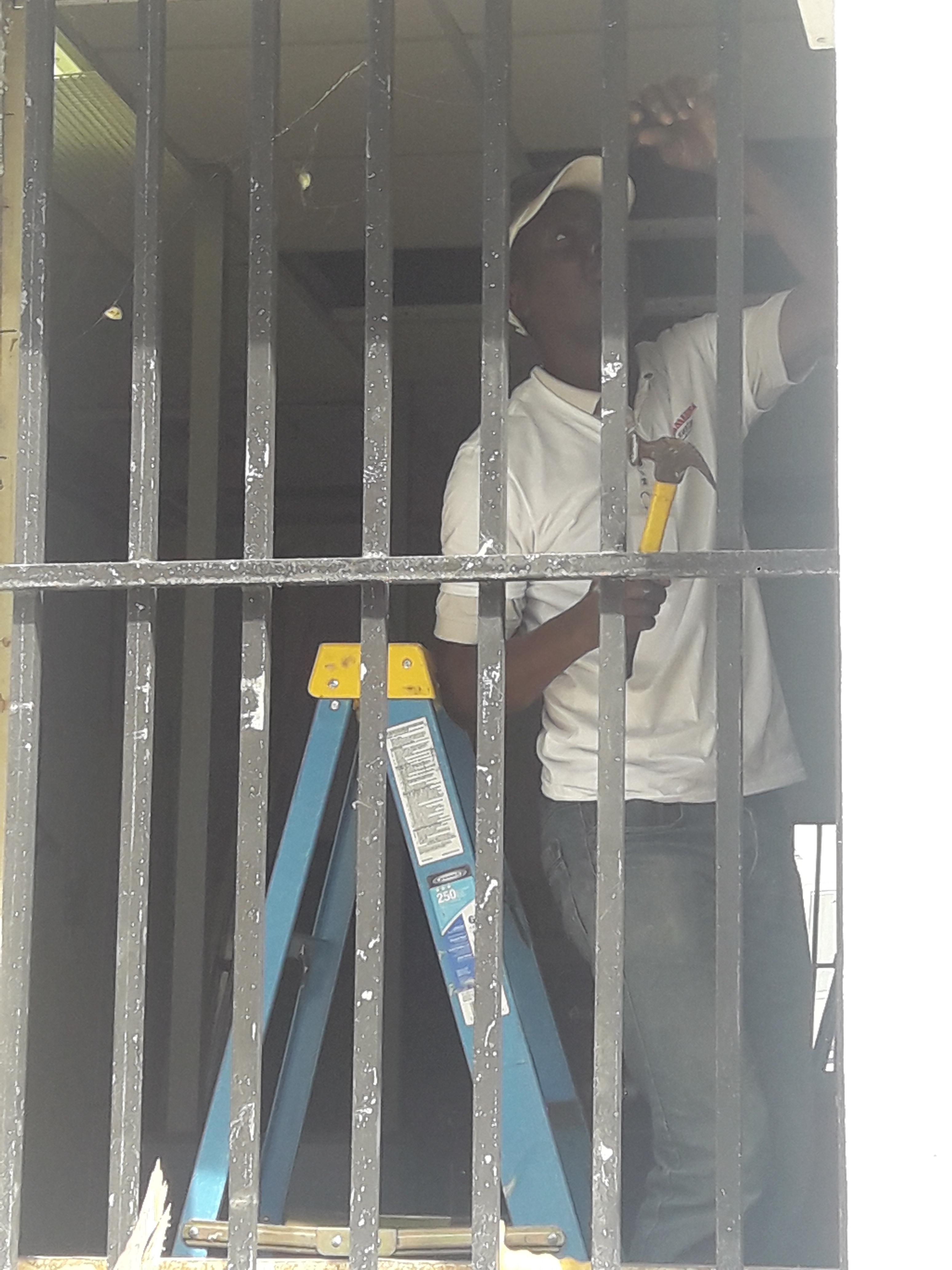 Renovation work at the police station 1