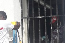 Renovation work at the police station 2