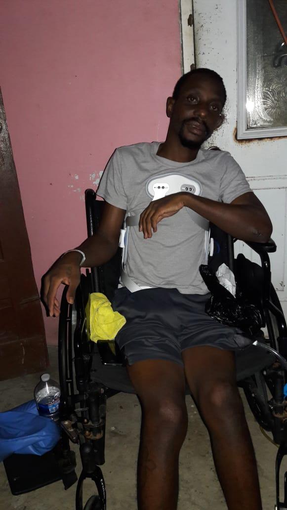 Shawn Odonoghue home nursing gun shot wound - 20190122 AB