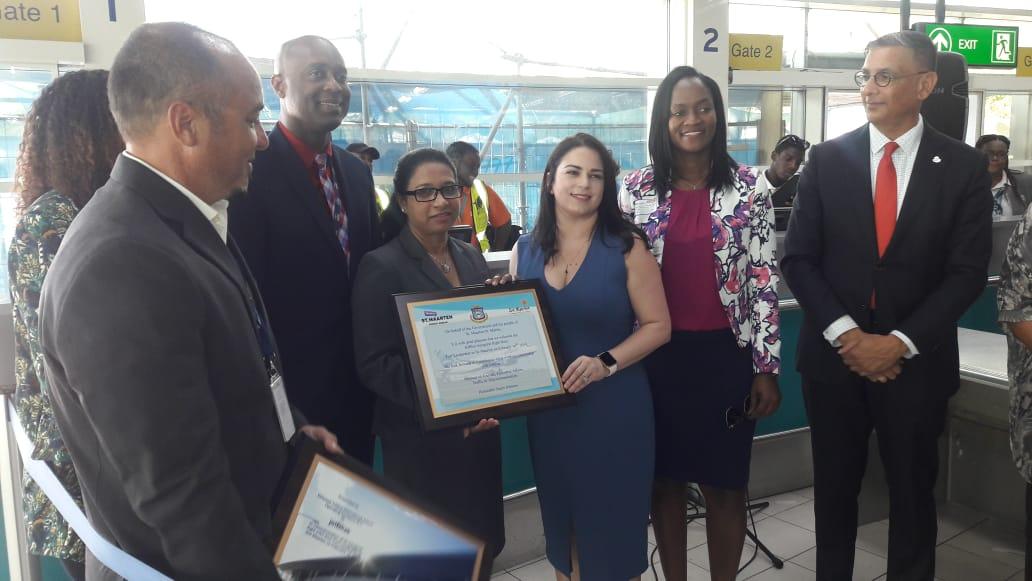 JetBlue inaugural FLL-SXM flight 14 Feb 2019 (3)