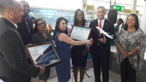 JetBlue inaugural FLL-SXM flight 14 Feb 2019 (4)
