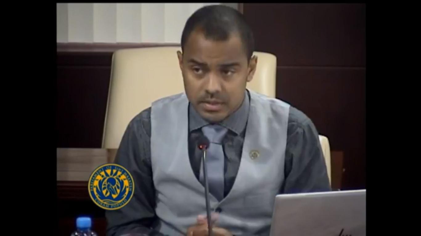 MP Rolando Brison on presentation MOT in Parliament 20 Feb 2019