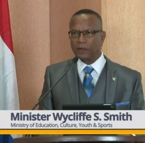 Minister of Education Wycliffe Smith - 20 Feb 2019