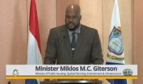 Minister of VROMI Miklos Giterson - 27 Feb 2019