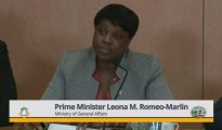 PM Leona Romeo Marlin at Press Briefing 07 Feb 2019