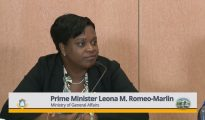 PM Leona Romeo Marlin at Press Briefing Jan 2019