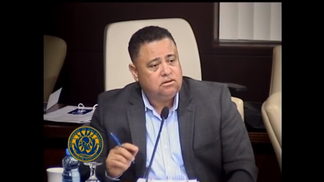 Parliament meeting on GEBE with MP Frans Richardson - 5 Feb 2019