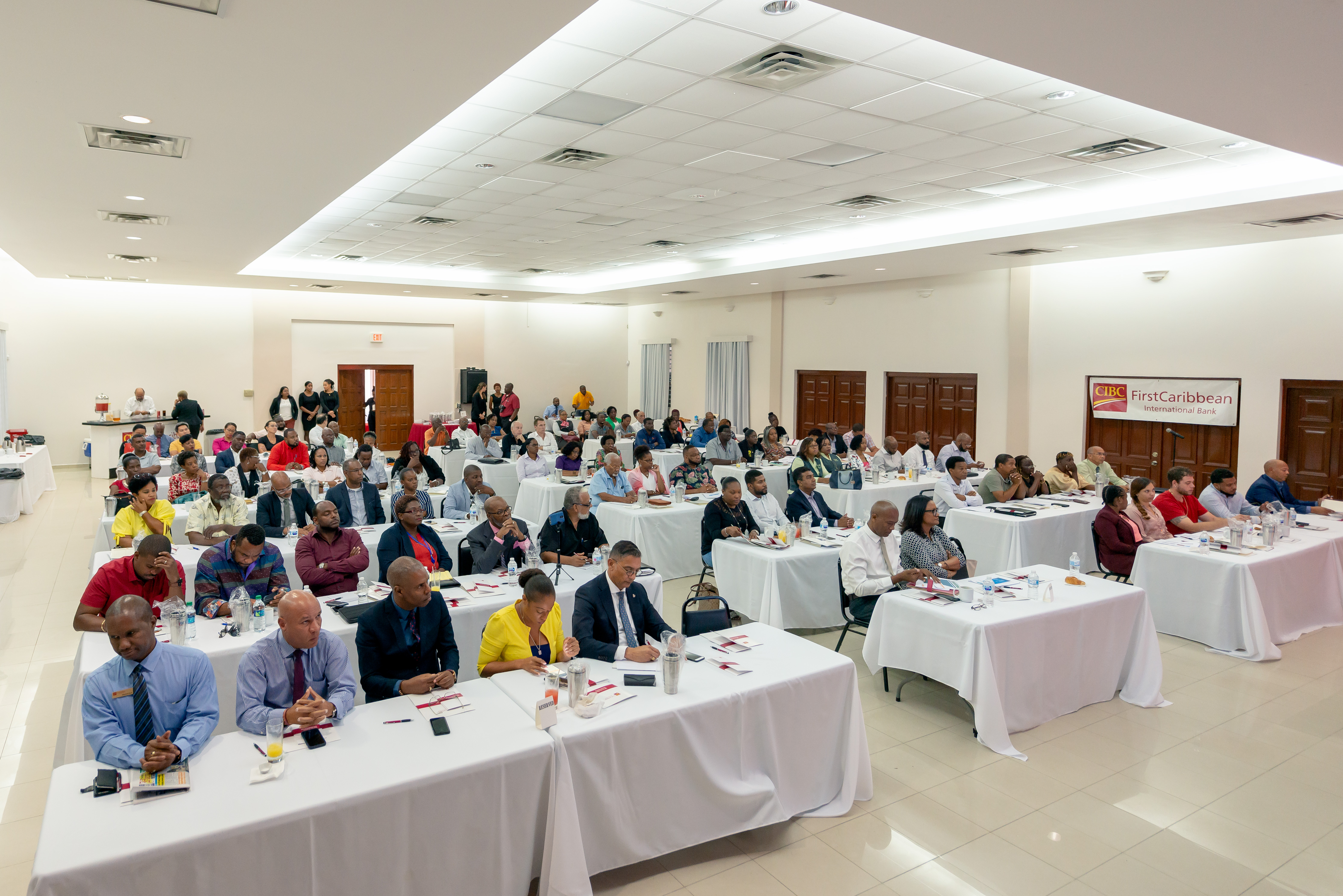 CIBC FirstCaribbean's First in Business Seminar at Belair Community Center March 14th 2019 - - - Richard Hazel Photo