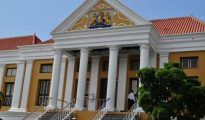 Courthouse in Willemstad Curacao