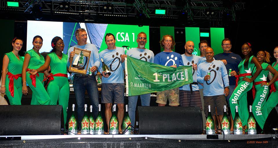 Heineken Regatta 2019 CSA 1 winners Lazy Dog
