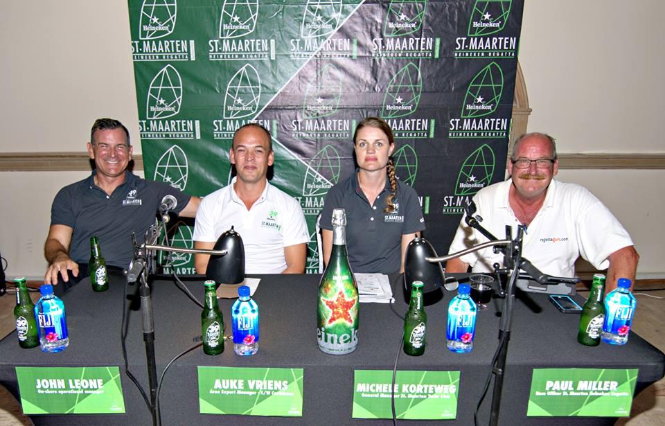 Heineken Regatta 2019 organizers