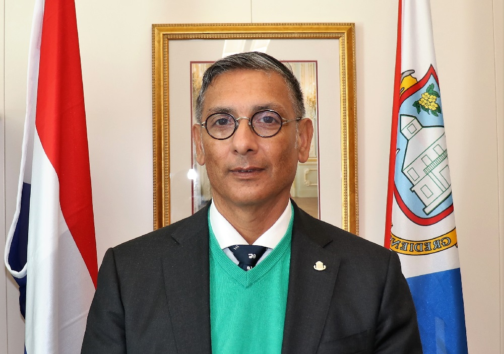 Minister of Finance Perry Geerlings - 12 Mar 2019