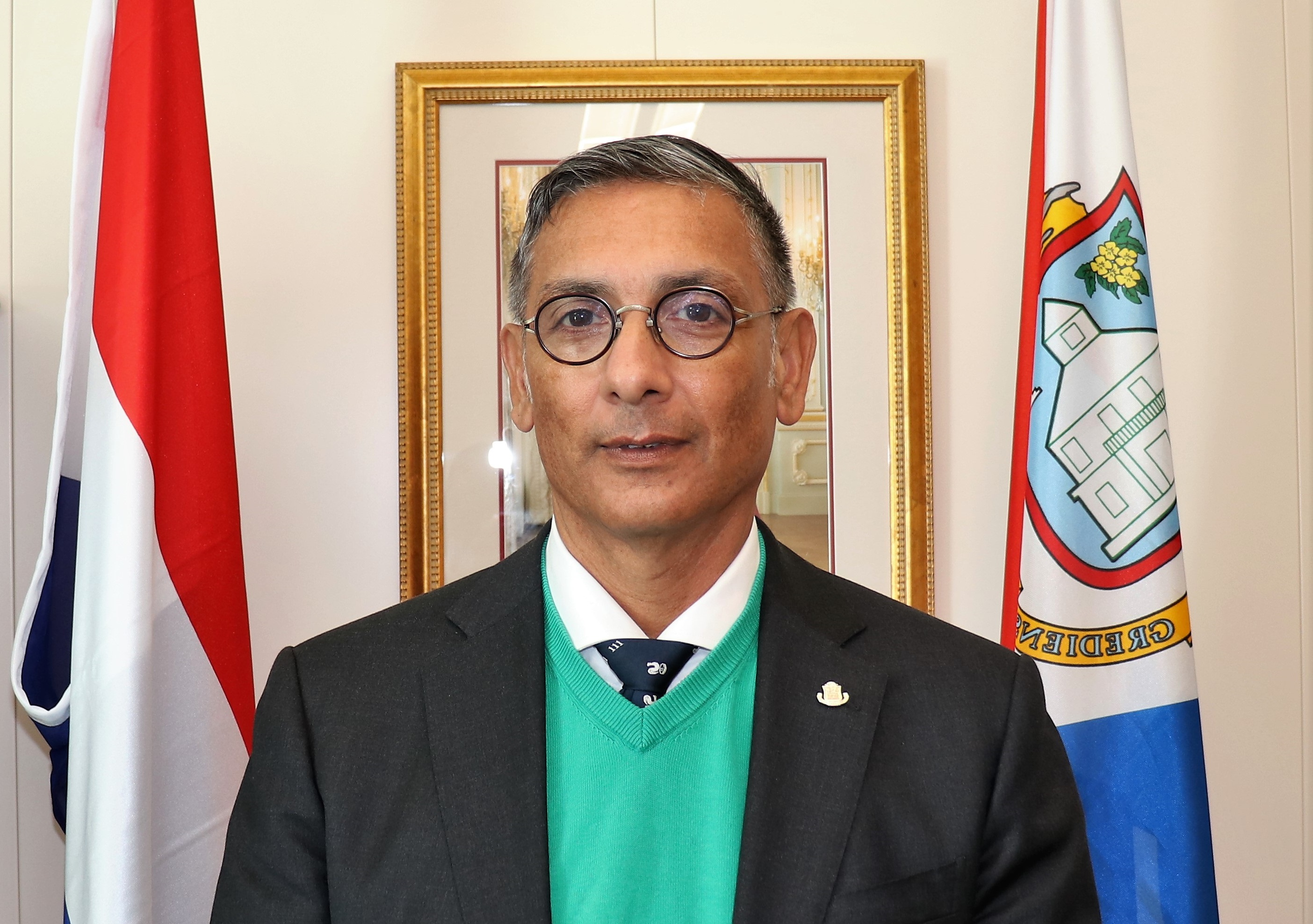 Minister of Finance Perry Geerlings - Mar 2019