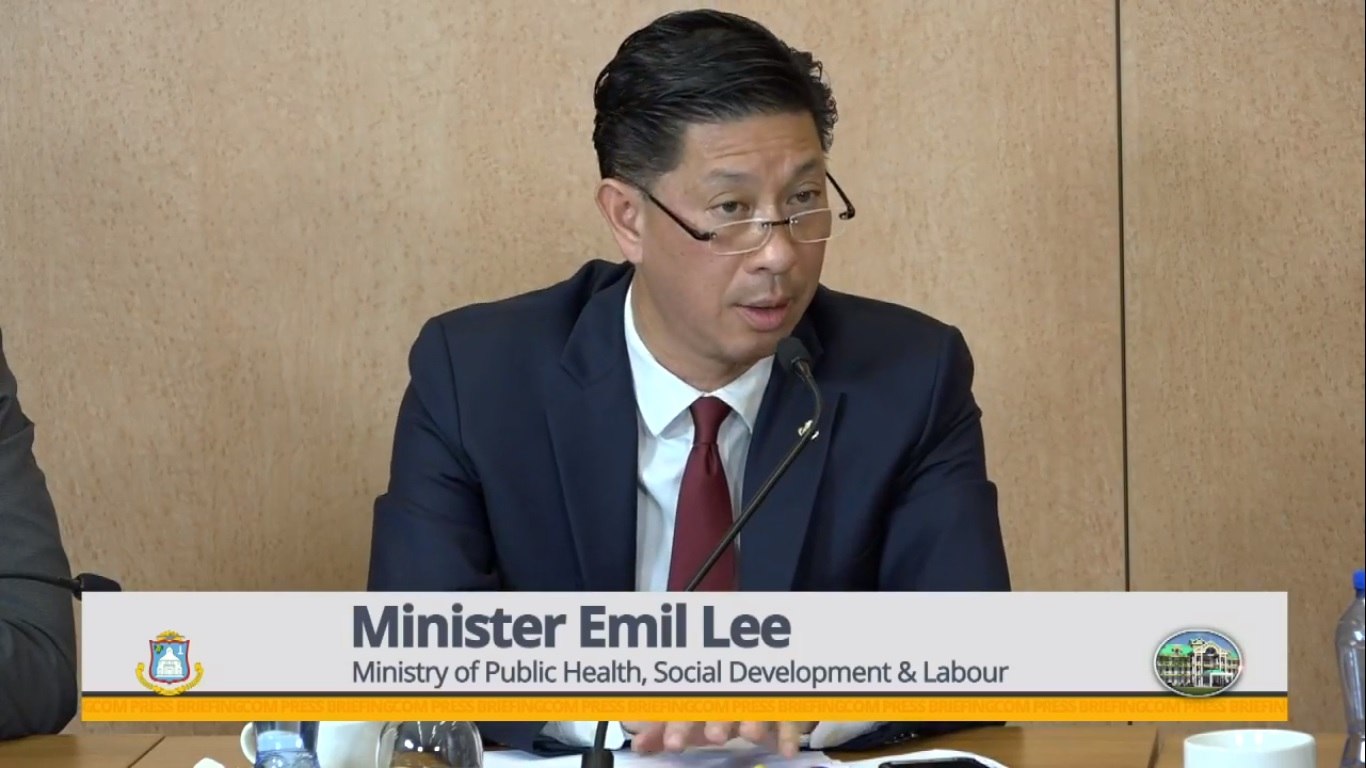 Minister of Health Emil Lee - 27 Mar 2019