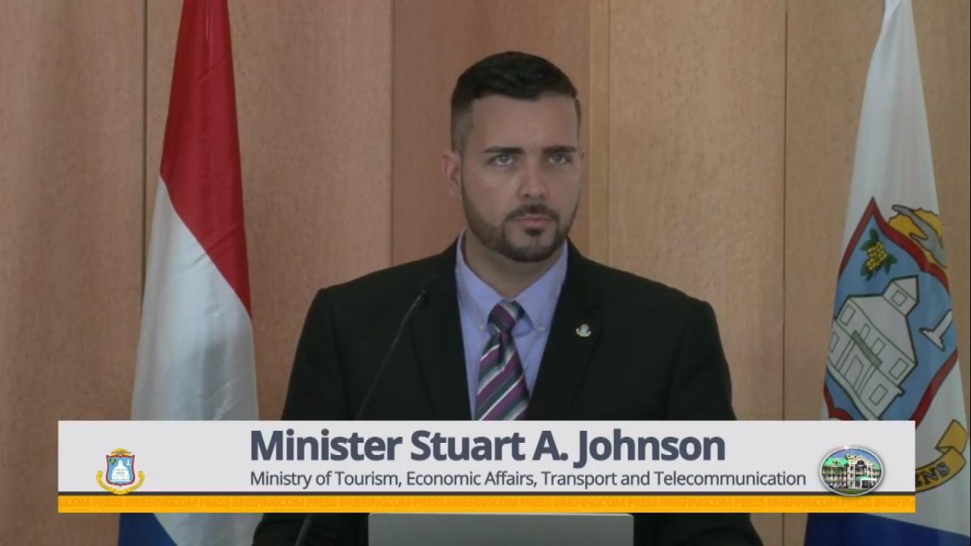 Minister of Tourism Stuart Johnson - 6 Mar 2019 - Pre-Clearance