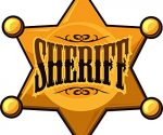 Sheriff star shield