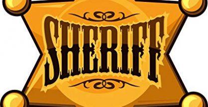 Sheriff star shield