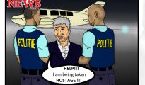Theo Cartoon - Hostage