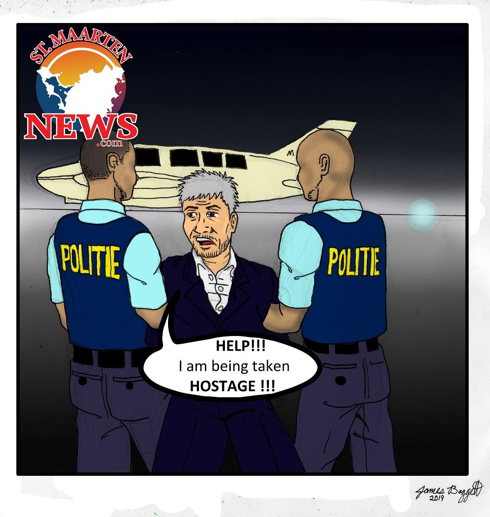 Theo Cartoon - Hostage
