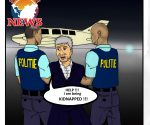 Theo Cartoon - Kidnapped