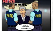 Theo Cartoon - Kidnapped