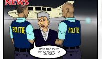 Theo Cartoon - Not my AA Flight to Atlanta