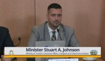 Tourism Minister Stuart Johncon - 27 Feb 2019