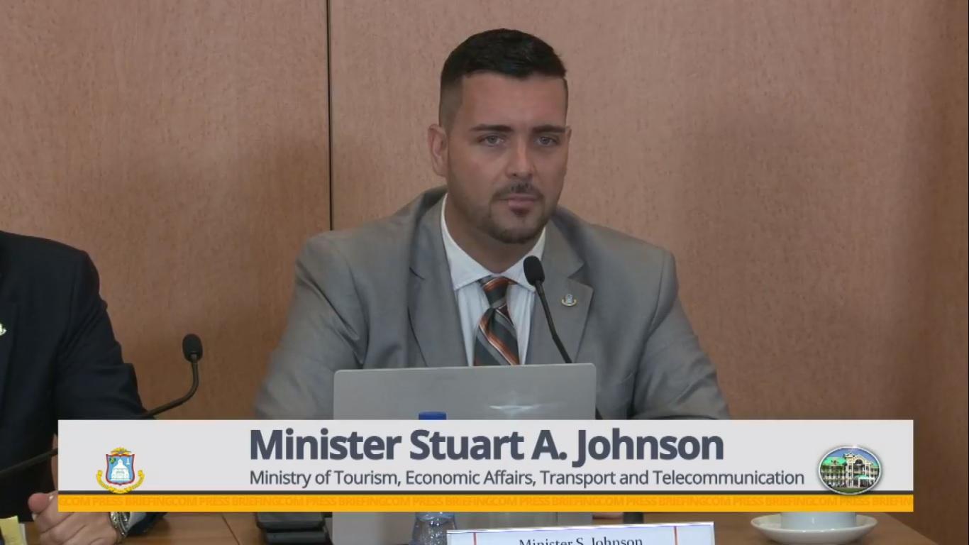 Tourism Minister Stuart Johncon - 27 Feb 2019