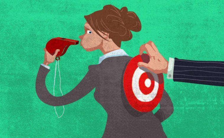 whistleblower becomes target