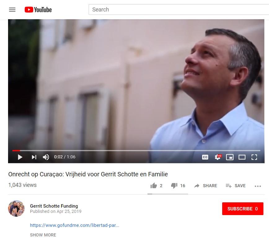 Gerrit Schotte Youtube video