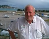 Cdr. Bud Slabbaert at SXM Airport
