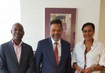 MinAGZ SXM House The Hague MP Luc Mercelina visits Cabinet