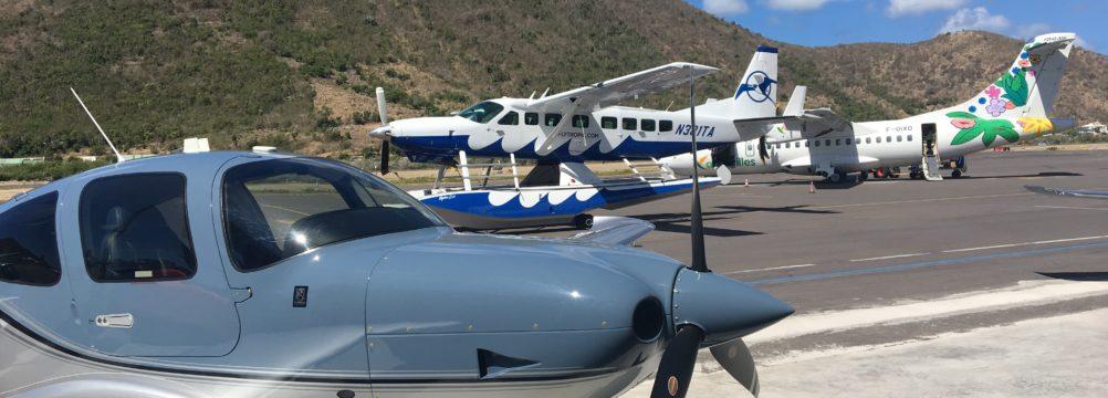 Aircrafts at Grand Case Airport - Seth Miller Post
