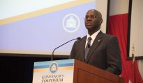 Governor Holiday at Symposium June 2019