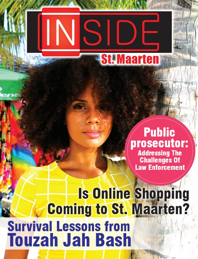 INSIDE St. Maarten - Cover Page Zero Edition