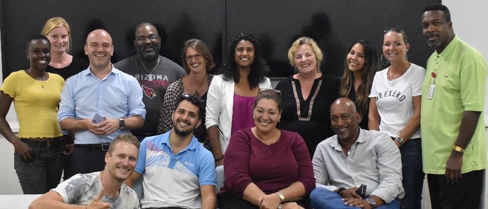 MasterClass Media St. Maarten Group Photo - 31 May 2019