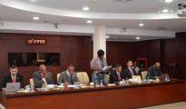 PM Leona Romeo-Marlin in Parliament with COM - Budget 2019