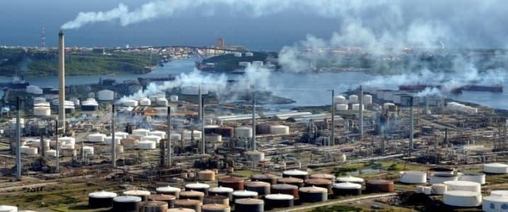 Curacao oil terminal