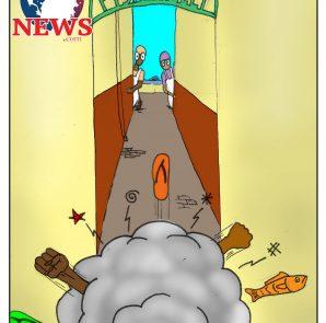 Fish Alley Cartoon