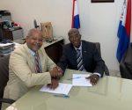 VKS signing Ministr De Weever & F. Richards 20190716