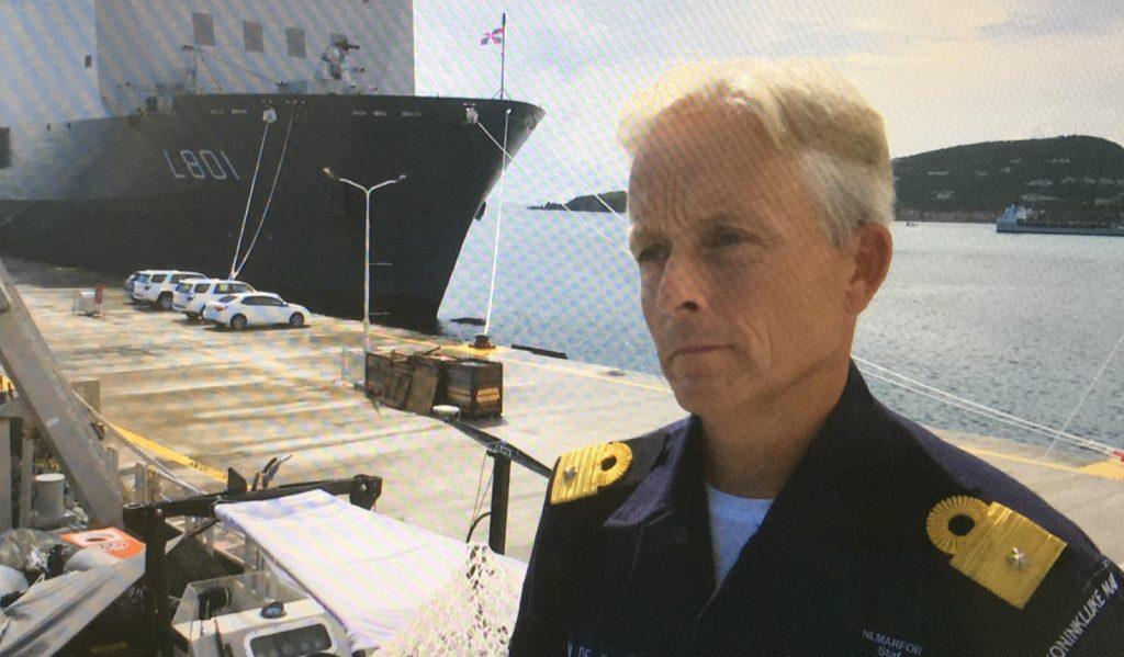 Commandant HMS Pelikaan Ad van de Sande