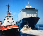 HMS Pelikaan arrive in St. Maarten 20190907