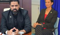 MP Claude Chacho Peterson & MP Sarah Wescot-Williams