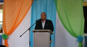 Marcel Gumbs at NIPA graduation ceremony