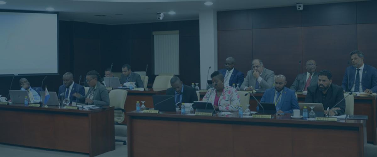 Parliament meeting