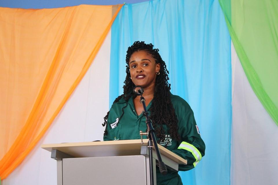 Shannon Richardson - Valedictory Speech NIPA Masonry Class of 2019