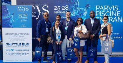 St. Maarten delegation led by MinTEATT Stuart Johnson