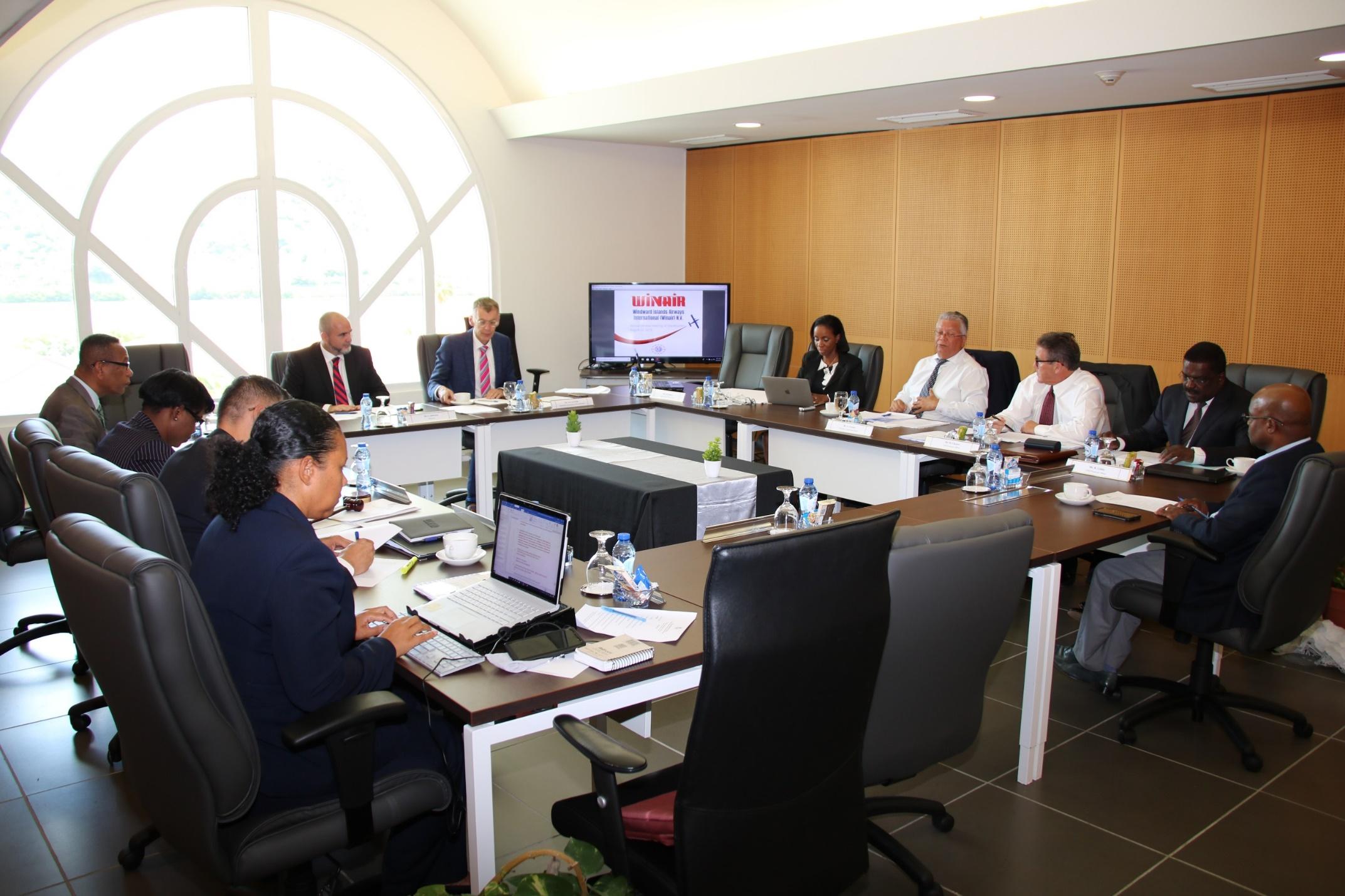 Winair Annual Shareholders Meeting Aug 2019